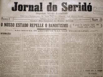 Jornal de Caicó repercutindo o ataque de Lampião e seu bando a Mossoró