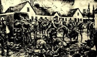 A carnificina da Primeira Guerra Mundial só veria a participação americana em 1917.