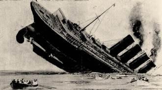 Afundamento do Lusitânia em 7 de maio de 1915