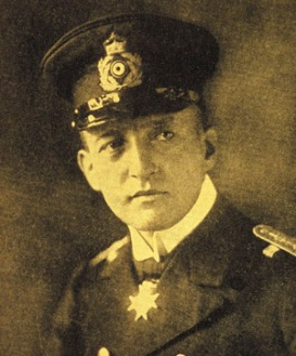 O homem que afundou o Luzitânia, o  Kapitänleutnant Walther Schwieger - Fonte - www.advanceddivermagazine.com