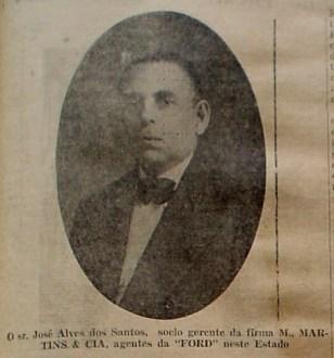 José Alves dos Santos, da M. Martins e Cia.