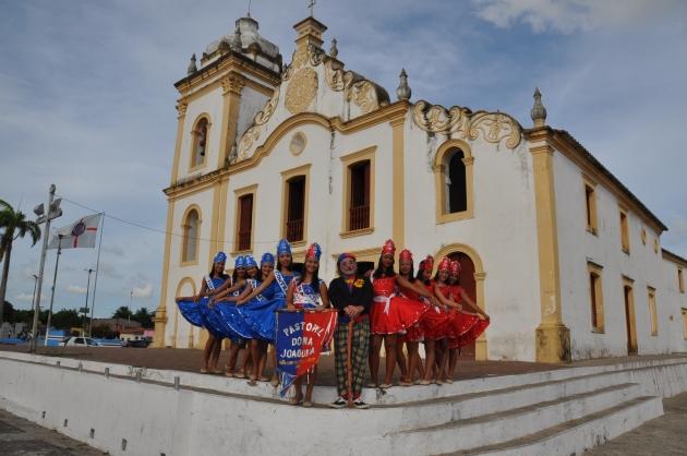 Pastoril de Dona Joaquina , de São Gonçalo do Amarante, Rio Grande do Norte - Foto de Isaias Carlos