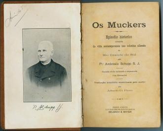 O livro Os Mucker do padre jesuíta Ambrosio Schüpp, o primeiro a ser escrito sobre o episodio mucker, era abertamente contra Jacobina e seus seguidores e alimentou muito das idéias que a região adotou e preservou sobre o conflito.