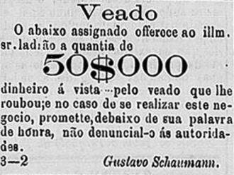 Diário de São Paulo de 04-08-1871