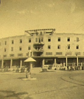 O Grande Hotel na época da II Guerra