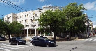 O velho hotel nos dias atuais.