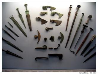 Armas da Idade do Bronze - Fonte - ieeeufabc.org