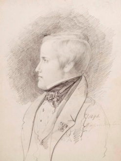 Retrato de d. Pedro II, 1841- Fonte - http://www.museuimperial.gov.br/