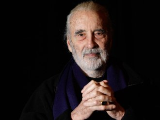 Christopher Lee 1922 - 2015 - Fonte - www.independent.co.uk