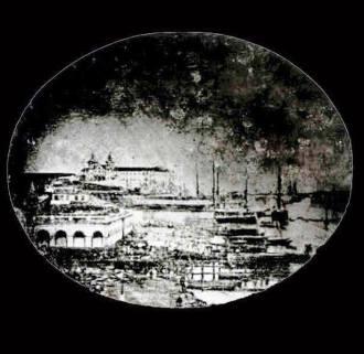 Cais do Rio de Janeiro. Em  janeiro de 1840