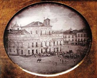Paço Imperial, Janeiro de 1840.