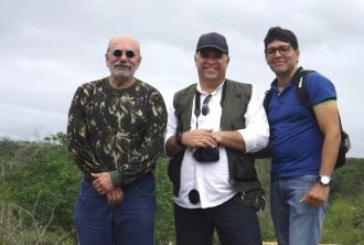 Junto com os amigos Ivanildo Silveira (RN) e Kiko Monteiro (SE)