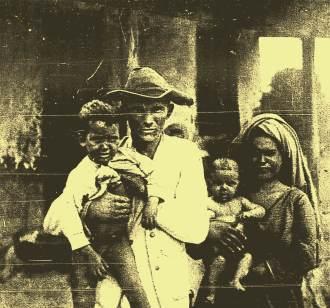 Vaqueiro Manoel Cândido, que teve a casa invadida e a mulher igualmente estuprada pelos cangaceiros no lugar Passagem.