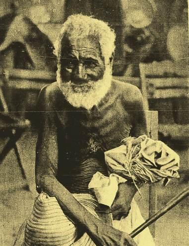 O idoso que aparece na foto era conhecido na região de Senhor do Bonfim como