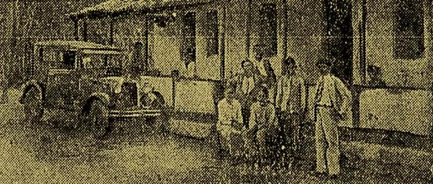 Casa da fazenda Pontilhão do Campo do Maio, também atacada pelos cangaceiros.
