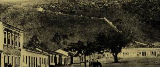A cidade baiana de Monte Santo, outro local visitado pelo correspondente de A Noite.