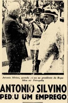 Quando esteve no Rio em 1938, houve um encontro entre Antônio Silvino e Getúlio Vargas