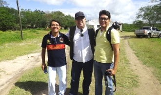 Com Sousa Neto (CE) e Kiko Monteiro (SE)