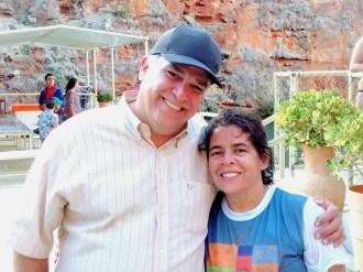 Junto com Vera Ferreira (SE), neta de Lampião e Maria Bonita