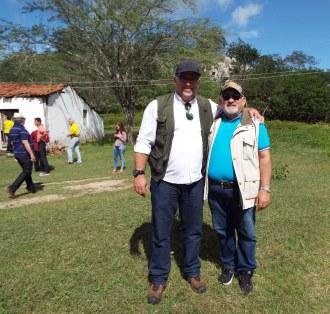 Com o amigo  Raul Meneleu Mascarenhas (SE)