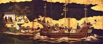 A chegada dos bárbaros do sul, por artista desconhecido (século 17)