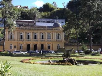 Palácio Amarelo, Petrópolis, Rio de Janeiro, antiga residência do barão de Guaraciaba
