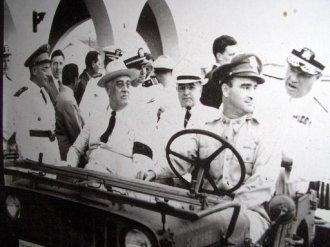 Roosevelt e Vargas em Natal - Fonte - www.sixtant.net