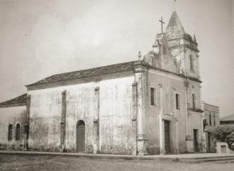 Antiga Igreja do Rosário, no Centro de Natal.