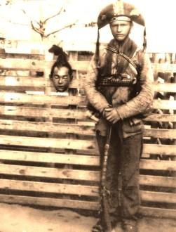 Barreira e a cabeça de Atividade, 5 de setembro de 1938, propriedade Santo Antônio, Pão de Açúcar, Alagoas
