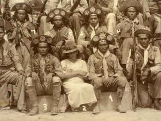 Entrega do grupo do cangaceiro Pancada - Fonte - cariricangaco.blogspot.com