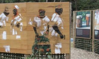 Mostra no memorial de Pinheiral, cidade que cultiva a dança africana - Divulgação / Divulgação Leia mais sobre esse assunto em http://oglobo.globo.com/rio/design-rio/programa-de-turismo-desenvolvido-por-historiadoras-foca-no-periodo-da-escravatura-no-brasil-17131966#ixzz3iRQmCTjt  © 1996 - 2015. Todos direitos reservados a Infoglobo Comunicação e Participações S.A. Este material não pode ser publicado, transmitido por broadcast, reescrito ou redistribuído sem autorização.