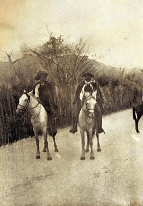 Vaqueiros cearenses, década de 1920