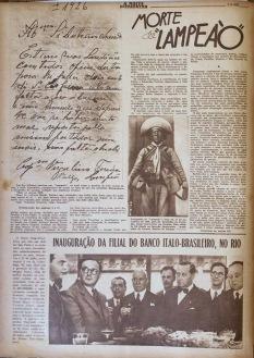 A revista A NOITE ILUSTRADA de 02 de agosto de 1938 - Fonte - http://blogdomendesemendes.blogspot.com.br/