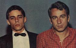 Chico Buarque e Geraldo Vandré - Foto - Revista Sétimo Céu-Reprodução