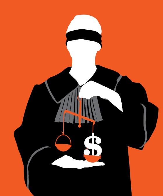 Resultado de imagem para justiça aposenta juiz charge