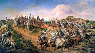 Quadro do pintor paraibano Pedro Américo (óleo sobre tela, 1888) - Fonte - pt.wikipedia.org