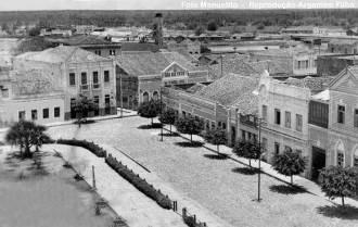 Mossoró, primeira metade do século XX - Fonte - blogdetelescope.blogspot.com
