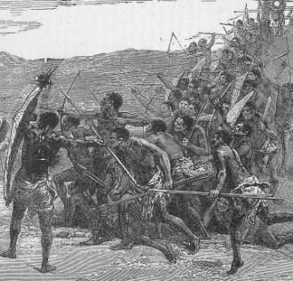 Batalha de Mbwila (Ambuíla) - Fonte - http://muanadamba.net/article-catoliza-o-e-poder-no-tempo-do-trafico-o-reino-do-congo-da-convers-o-coroada-ao-movimento-antonian-116228721.html