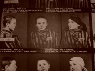 Fotografias de identificação de prisioneiros de Auschwitz feitas por Wilhelm Brasse, fotógrafo polonês e sobrevivente do campo