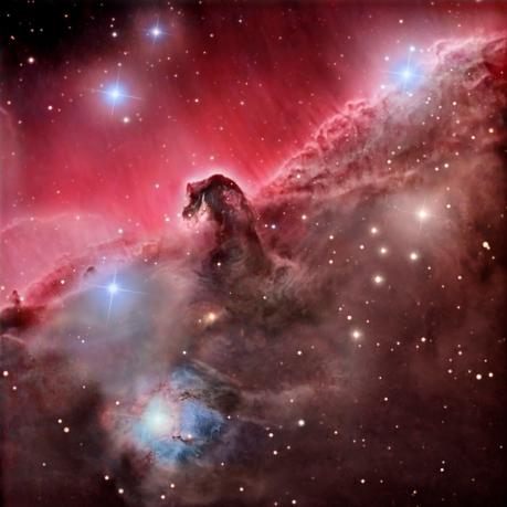 A Nebulosa da Cabeça de Cavalo - Fonte - apod.nasa.gov