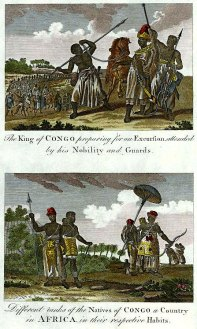 Aspectos da elite congolesa - http://www.africafederation.net/Kongo_History.htm