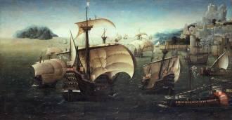 Barcos portugueses do século XVI - Fonte - en.wikipedia.org