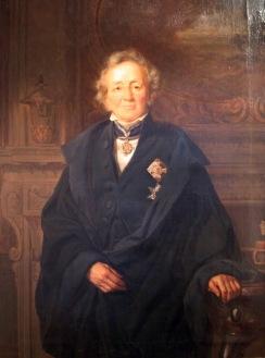 Leopold von Ranke, um dos primeiros historiadores positivistas. (Cópia de óleo por Adolf Jebens, original por Julius Schrader, 1875. Märkisches Museum, Berlim) - Fonte - http://www.historiailustrada.com.br/2015/11/3-pontos-entender-cursar-historia.html