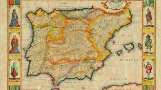 Lei beneficia herdeiros dos judeus expulsos da Península Ibérica (mapa acima) no século 15 - Foto: Divulgação