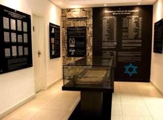 Uma seção do Museu da História da Inquisição, em Belo Horizonte, é dedicada às vítimas brasileiras da intolerância religiosa - Foto: Divulgação Associação Brasileira de Descendentes de Judeus da Inquisição