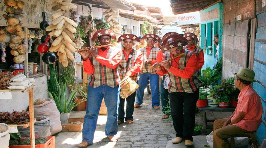 Banda de Pifanos na Feira de Caruaru - foto Hansfotos
