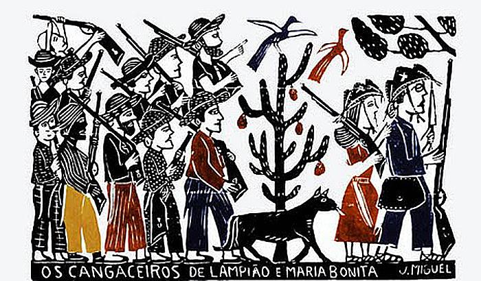 11_cangaceiros na arte popular