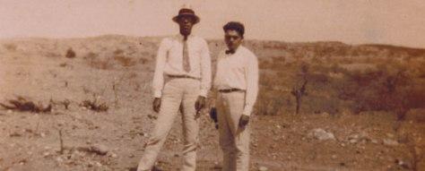 Mário de Andrade e Luís da Câmara Cascudo no sertão, 1929