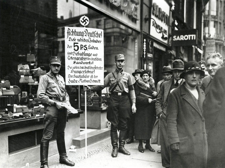 the-bizarre-story-of-kristallnacht-635-boycott-of-jewish-shops-in-friedrichstrac39fe