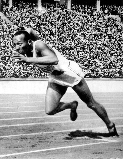 Jesse Owens of the USA